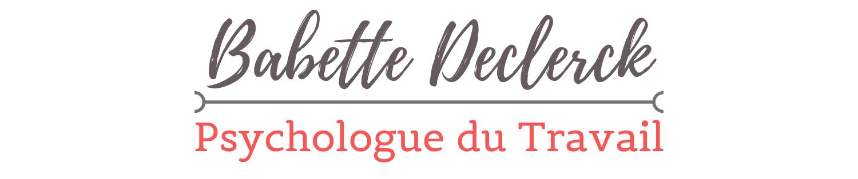 ExpériSens au Travail: Babette DECLERCK, Psychologue du Travail à Armentières